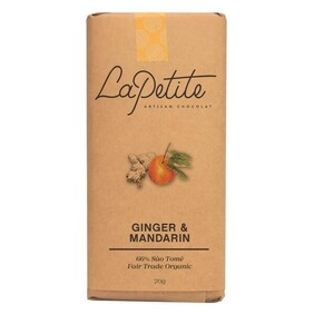 La Petit Ginger & Mandarin Chocolate bar